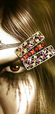 Ladies HAIR SLIDES JEWELS GEMS SPARKLY X3 MONSOON CLIPS GRIPS HAIR ACCESSORIES  • 1.50£
