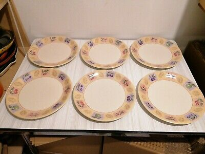 Marks And Spencer Wild Fruits 6x Dinner Plates • 32£