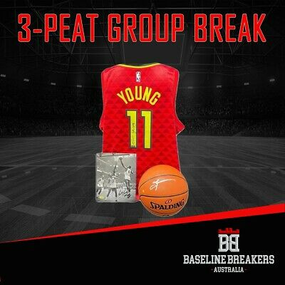 AU60 • Buy Hit Parade 3-Peat  SERIES 7 SIGNED NBA JERSEY/BALL/PHOTO  *GROUP BREAK*