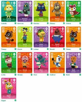 AU4.90 • Buy GENUINE Animal Crossing Series 4 Amiibo Cards (SP) SPECIAL CHARACTERS #301-316