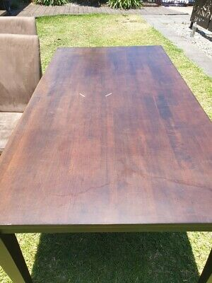 AU150 • Buy Dining Table And Chair Set. Timber And Brown In Colour. Good Condition.