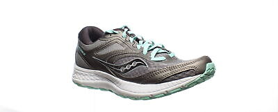 $ CDN42.52 • Buy Saucony Womens Cohesion 12 Grey/Teal Running Shoes Size 8.5 (1530710)