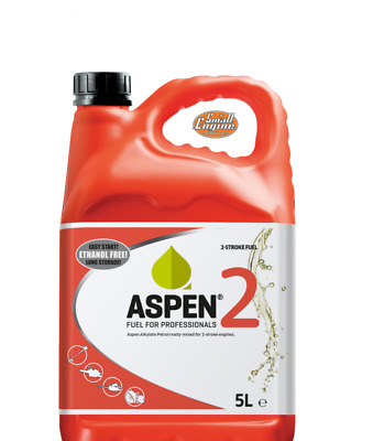 £23.98 • Buy Collect Only: Aspen 2 Alkylate Petrol 5l Can 50:1 Premixed 2 Stroke Fuel