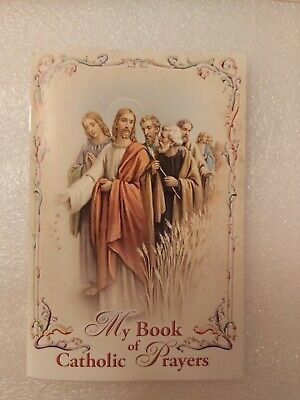 Book Of Catholic Prayers (33 Pages) 15cmx9.5cm Brand New  • 2.99£