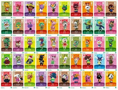 AU6.90 • Buy GENUINE & OFFICIAL Animal Crossing Series 1 Amiibo Cards Villagers #018 - #100