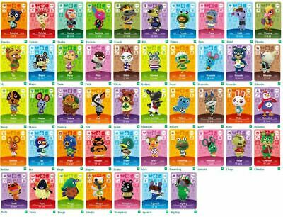 AU9.90 • Buy GENUINE & OFFICIAL Animal Crossing Series 2 Amiibo Cards Villagers #118 - #200