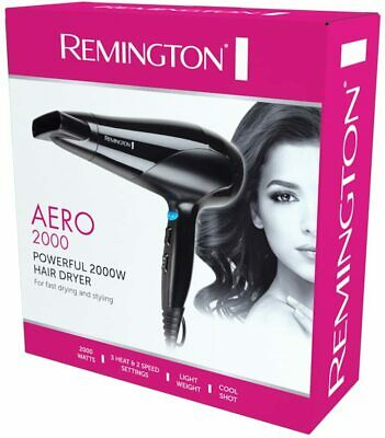 AU18.35 • Buy Remington Aero 2000 Poweful Hair Dryer Styling Blower D3190AU 3 Heat 2 Speed NEW