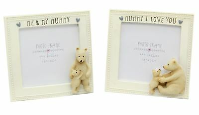 Square 4  X 4  Mum Bear Photo Picture Frame • 11.99£
