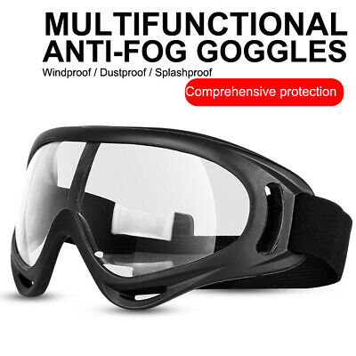 £13.80 • Buy Safety Goggles Anti-Fog Glasses Eye UV Protection For Lab Work Dust Proof UK