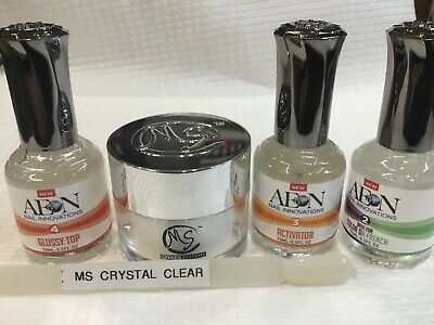 AU69 • Buy SNS MS CLEAR MYSTIC SYSTEMS Nail Dipping Powder Kit Signature Nails System AUS