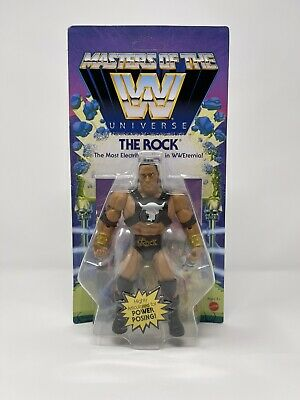 $17.50 • Buy Masters Of The WWE Universe The Rock Action Figure NIB Unpunched