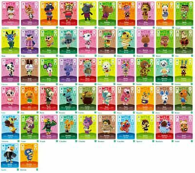AU8.90 • Buy GENUINE & OFFICIAL Animal Crossing Series 3 Amiibo Cards Villagers #218 - #300