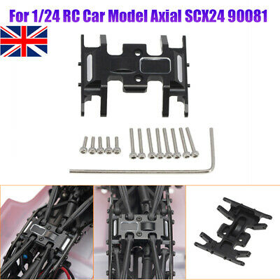 UK 1/24 Axial SCX24 90081 DIY Mid-Gear Box Chassis Mount Base Center Skid Plate • 11.99£