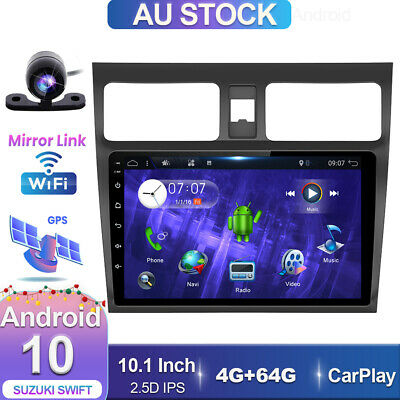 AU314.99 • Buy 10.1  Head Unit GPS For Suzuki Swift 2005-2010 Android 10 Car Stereo 4GB+64GB BT