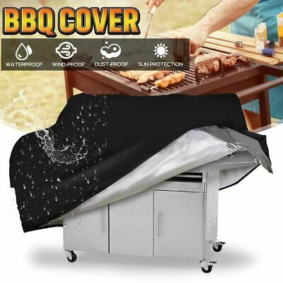 AU18.10 • Buy BBQ Cover 2/4/6 Burner Outdoor Gas Charcoal Barbecue Grill Protecto
