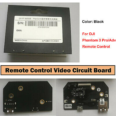 AU20.97 • Buy Replacement Video Circuit Board Parts For DJI Phantom 3 Pro/Adv Remote Control