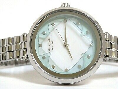 $ CDN94.42 • Buy Kate Spade Ladies Annadale Stainless With Pale Blue And White, Watch ,  Ksw1523