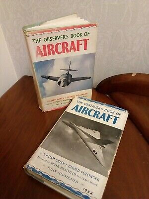The Observers Book Of Aircraft 2 X Different Copies Both 1950s • 7.50£