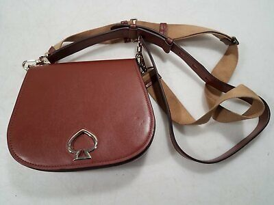 $ CDN15.95 • Buy Kate Spade NY Womens Sienna Leather Crossbody Medium Purse W/Extra Strap