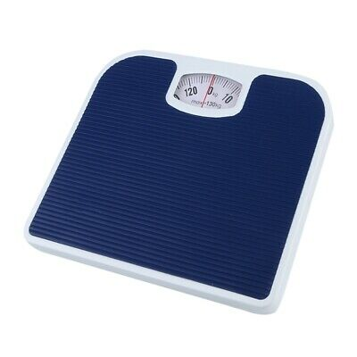 Bathroom Scale Weighing Body Weight Mechanical Home Lose Fat Dial Blue 130kg • 12.49£