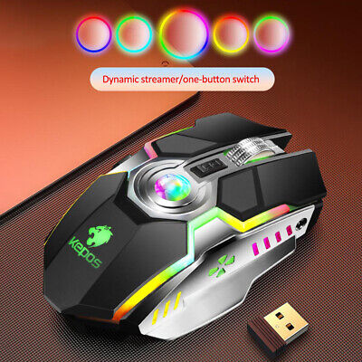 AU20.98 • Buy Mini Wireless Mouse Gaming Laser USB Rechargeable Optical 2.4GHz Game Laptop AU