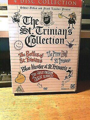 The St Trinians Collection 4 DISC   [DVD]  IN VGC • 6.99£