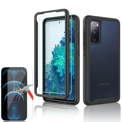 For Samsung Galaxy S20 FE 5G A21s Full-Body Rugged Case Cover Screen Protector   • 5.89£