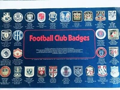 1971 The Esso Collection Of 76 Football Club Badges (minus Eight). • 1.50£