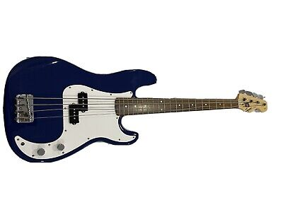 Fender Squier P-Bass Guitar In Blue. 20th Anniversary Edition • 122£