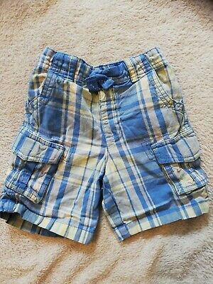Boys 2-3 Years Checked Shorts • 2.99£