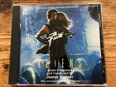 ALIENS (James Horner) OOP 1986 Varese Score Soundtrack OST CD EX • 14.99£