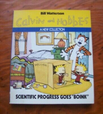 Calvin And Hobbes - Scientific Progress Goes 'Boink' - Good Used Condition • 3.50£