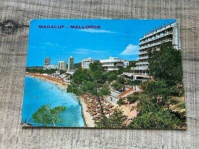Collectable Postcard Spain Magaluf Mallorca To England (e218) • 2.49£