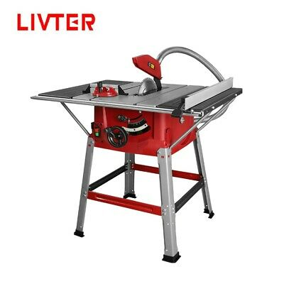 LIVTER KSA Current Stocks 10inch Portable Table Saw Wood Cutting Machine • 286.10£