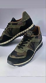 £150 • Buy Valentino Shoes UK 9 Green Camouflage