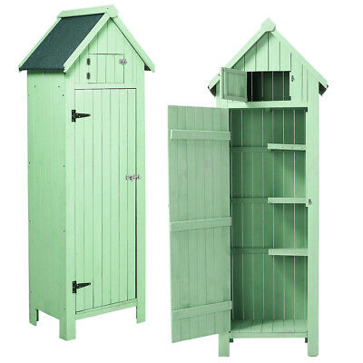 Modern Large Wooden Outdoor Storage Garden Shed House Hut Tool Room Sentry Box • 189.95£