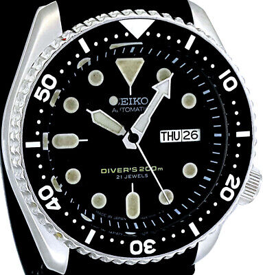 $ CDN10.76 • Buy Vintage SEIKO Diver SKX007 Genuine 7S26-0020 Case All Original Movt &  21J  Dial