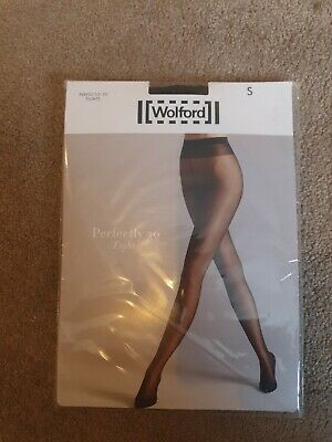 Wolford Perfectly 30 Tights Small Size 10 • 4.20£