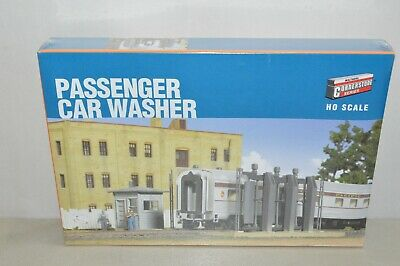 $ CDN6.95 • Buy HO Scale Walthers Building Structure KIT 3186 Passenger Car Train Washer Rack