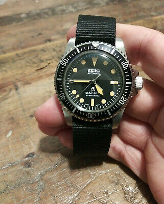 $ CDN130.78 • Buy 5517 Milsub Submariner Seiko NH35 Automatic Stainless Mens Diver Watch Nice!!!
