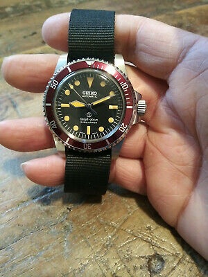 $ CDN331.72 • Buy 5517 Milsub Submariner Seiko NH35 Automatic Stainless Mens Diver Watch Nice!!!