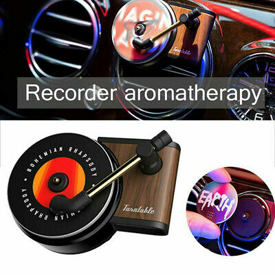 AU9.99 • Buy Car Vent Air Freshener Clip Perfume Diffuser Record Player Smell Diffuser AU