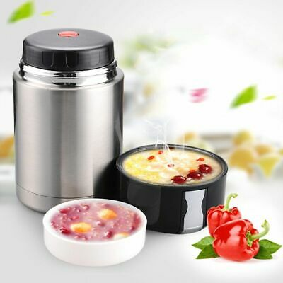 AU42.62 • Buy Thermos Lunch Box Food Insulated Container Stainless Steel Warmer Thermo