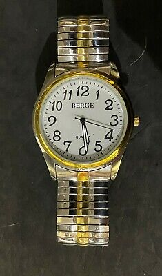 Berg Easy Read Unisex Watch, Expandable Strap   (52) • 8£