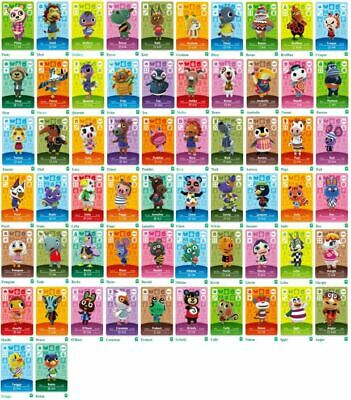 AU18.90 • Buy GENUINE & OFFICIAL Animal Crossing Series 4 Amiibo Cards Villagers #318 - #400