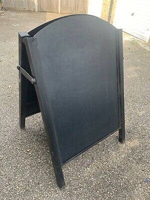 A BOARD With Sliding Panels .  SIGN A1 METAL FRAME LARGE BOARD PAVEMENT BOARD • 38£