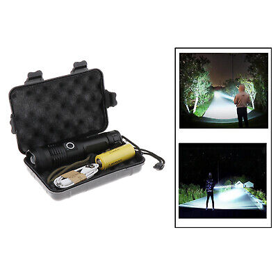 AU21.29 • Buy High Lumens Rechargeable XHP50 XHP70.2 Led Flashlight USB Torch Lamp