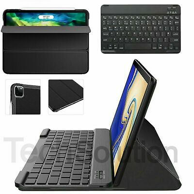 NEW Slim Cover Case For IPad Pro 11 Inch 2nd Generation 2020 & Wireless Keyboard • 17.45£