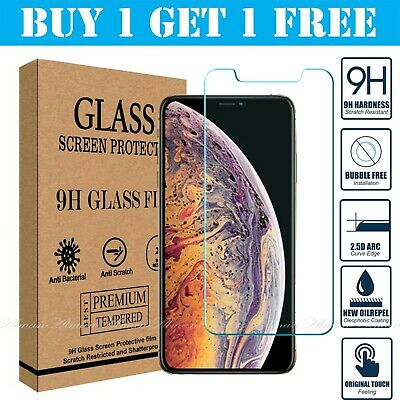 AU1.76 • Buy Screen Protector For Apple IPhone X - Tempered Glass 100% Genuine