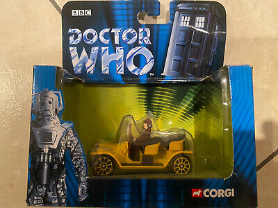 Corgi Doctor Who 4th Doctor TOM BAKER And BESSIE Die-cast TY96101 MINT CONDITION • 12£